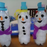 Snowman toddler craft