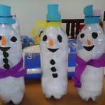 Snowman toddler craft