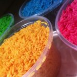 Coloured Rice